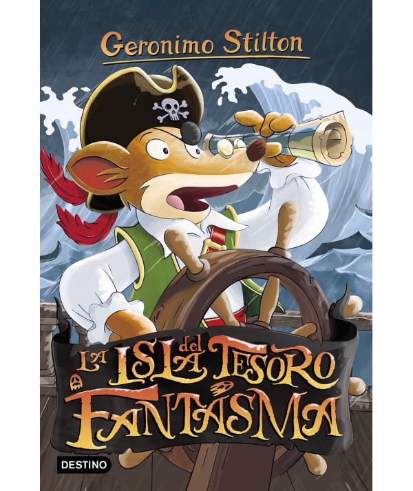GERONIMO STILTON 42 LA ISLA DEL TESORO FANTASMA Infantil