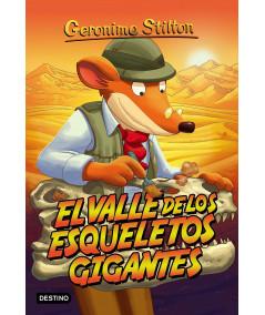 GERONIMO STILTON 44 EL VALLE DE LOS ESQUELETOS GIGANTES Infantil