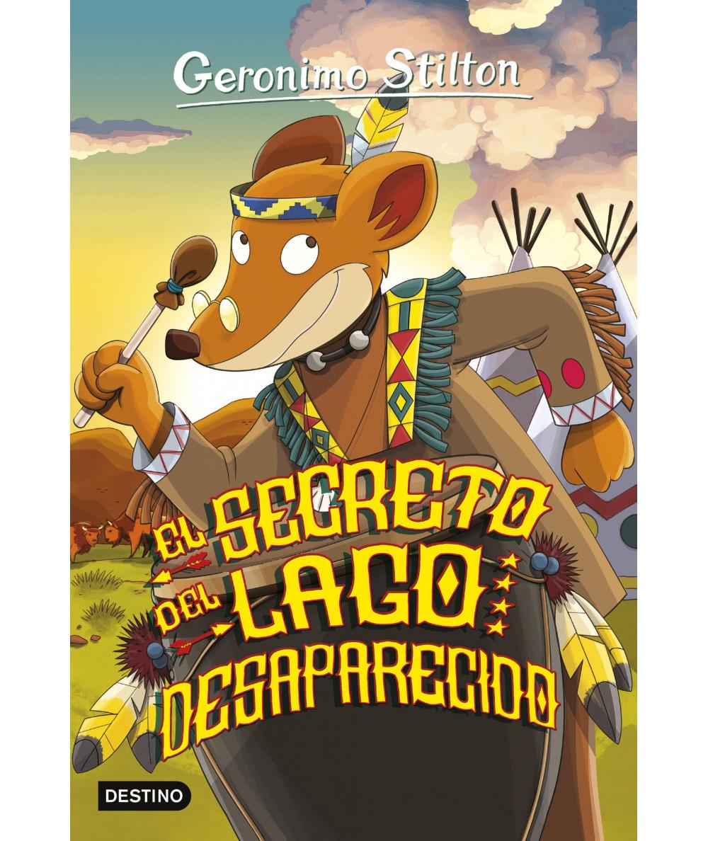 GERONIMO STILTON 50 EL SECRETO DEL LAGO DESAPARECIDO Infantil