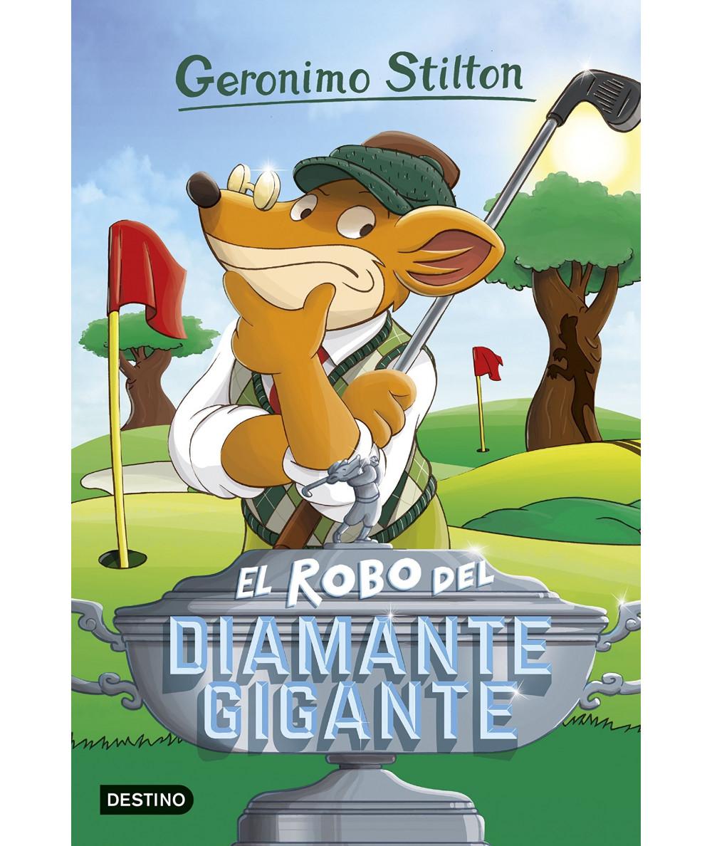 GERONIMO STILTON 53 EL ROBO DEL DIAMANTE GIGANTE Infantil