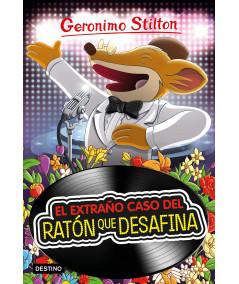 GERONIMO STILTON 55 EL EXTRAÑO CASO DEL RATON QUE DESAFINA Infantil