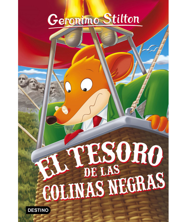 GERONIMO STILTON 56 EL TESORO DE LAS COLINAS NEGRAS Infantil