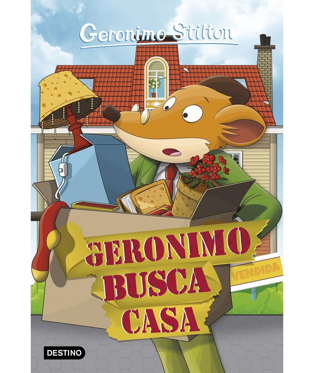 GERONIMO STILTON 58 GERONIMO BUSCA CASA Infantil