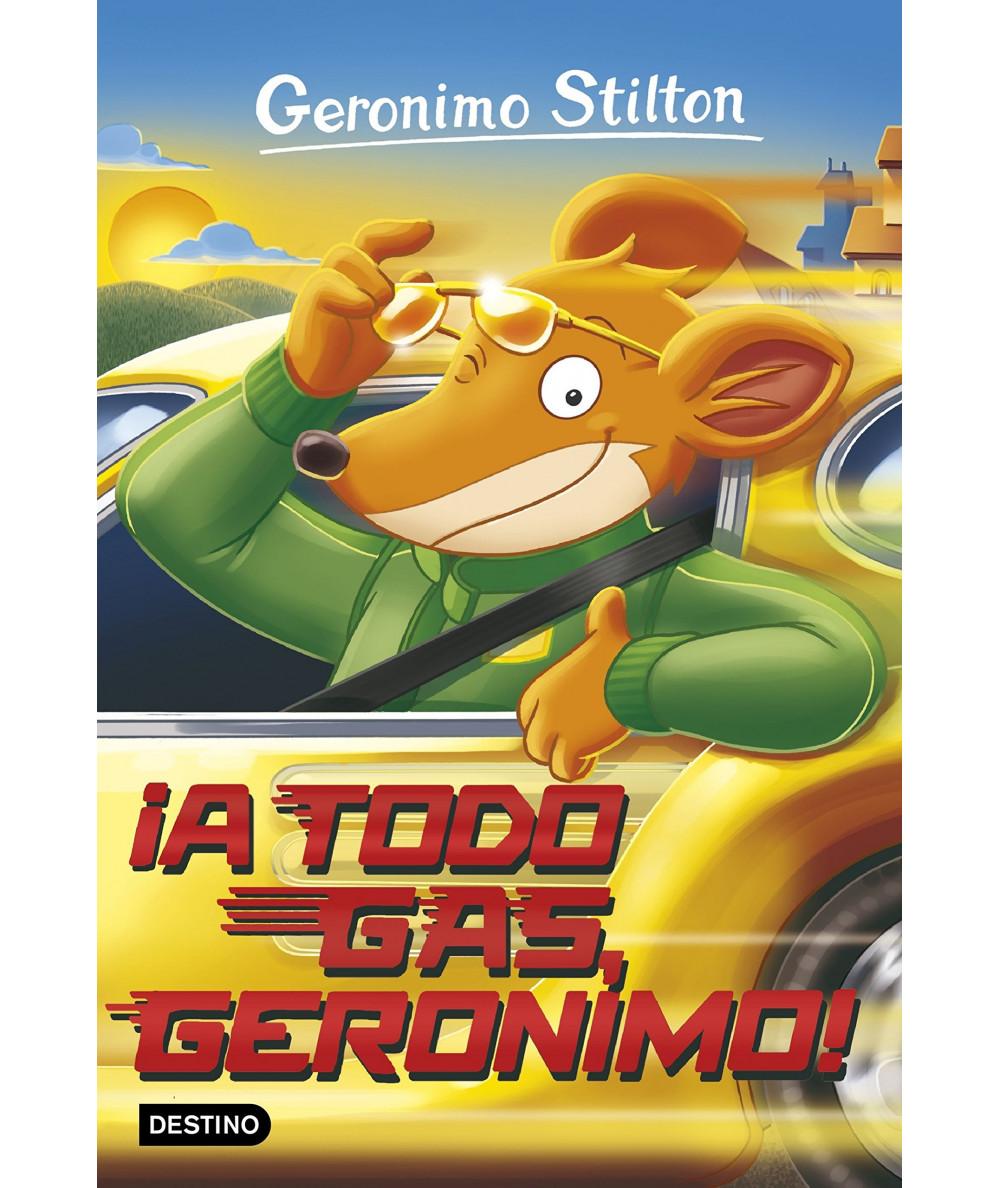 GERONIMO STILTON 59 A TODO GAS GERONIMO Infantil