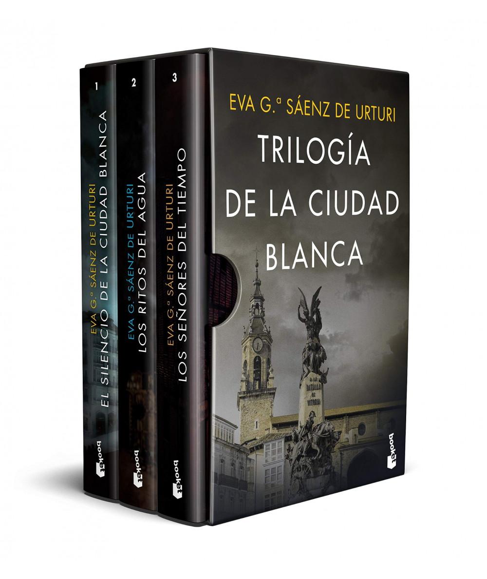 ESTUCHE TRILOGIA DE LA CIUDAD BLANCA. EVA GARCIA SAENZ DE URTURI Fondo General