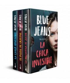 ESTUCHE LA CHICA INVISIBLE. BLUE JEANS Juvenil