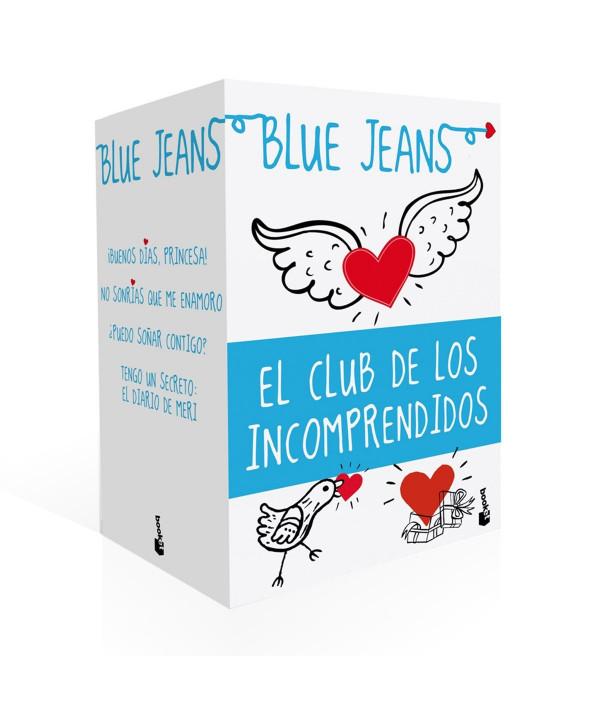PACK EL CLUB DE LOS INCOMPRENDIDOS. BLUE JEANS Juvenil