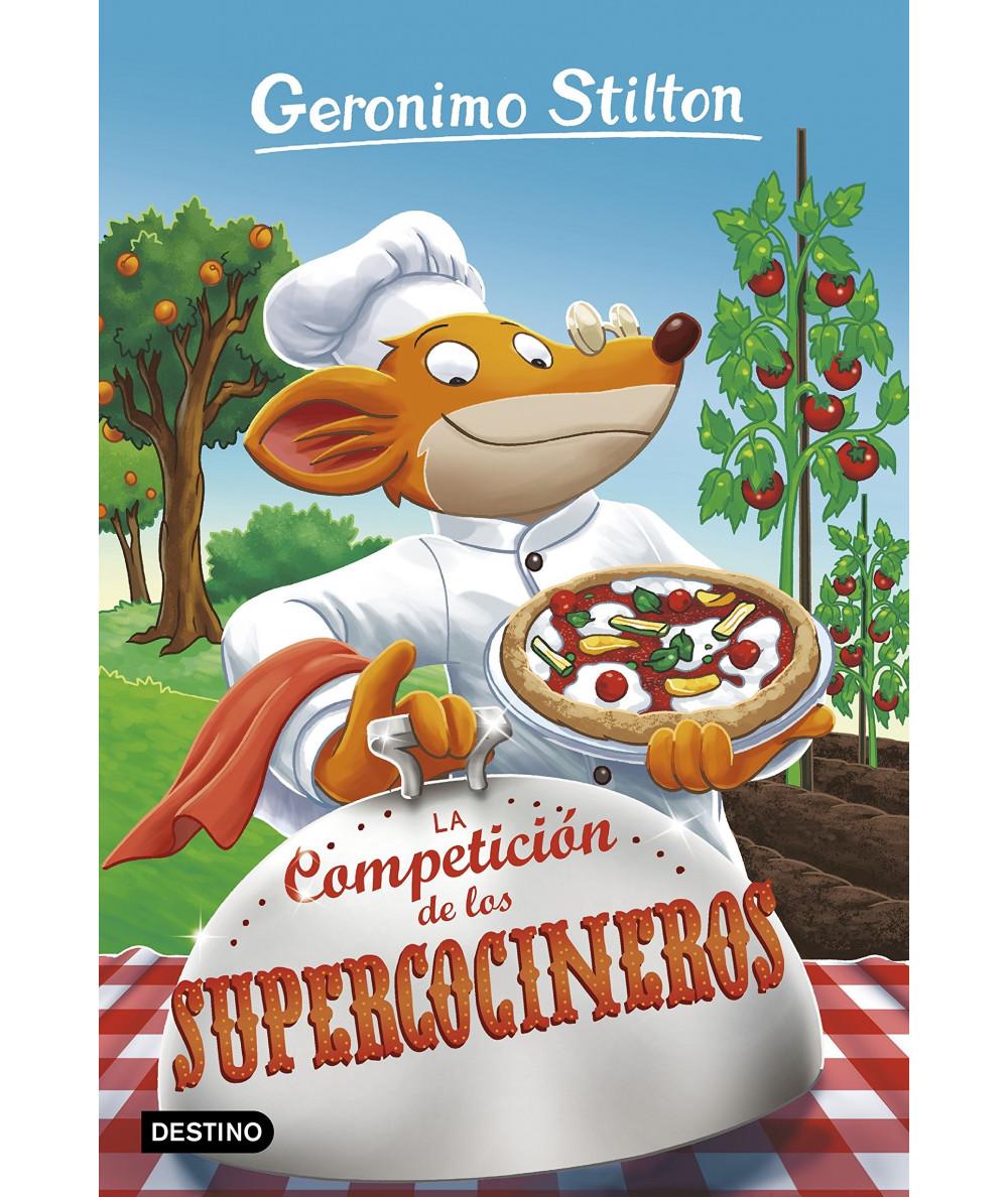 GERONIMO STILTON 68 LA COMPETICION DE LOS SUPERCOCINEROS Infantil