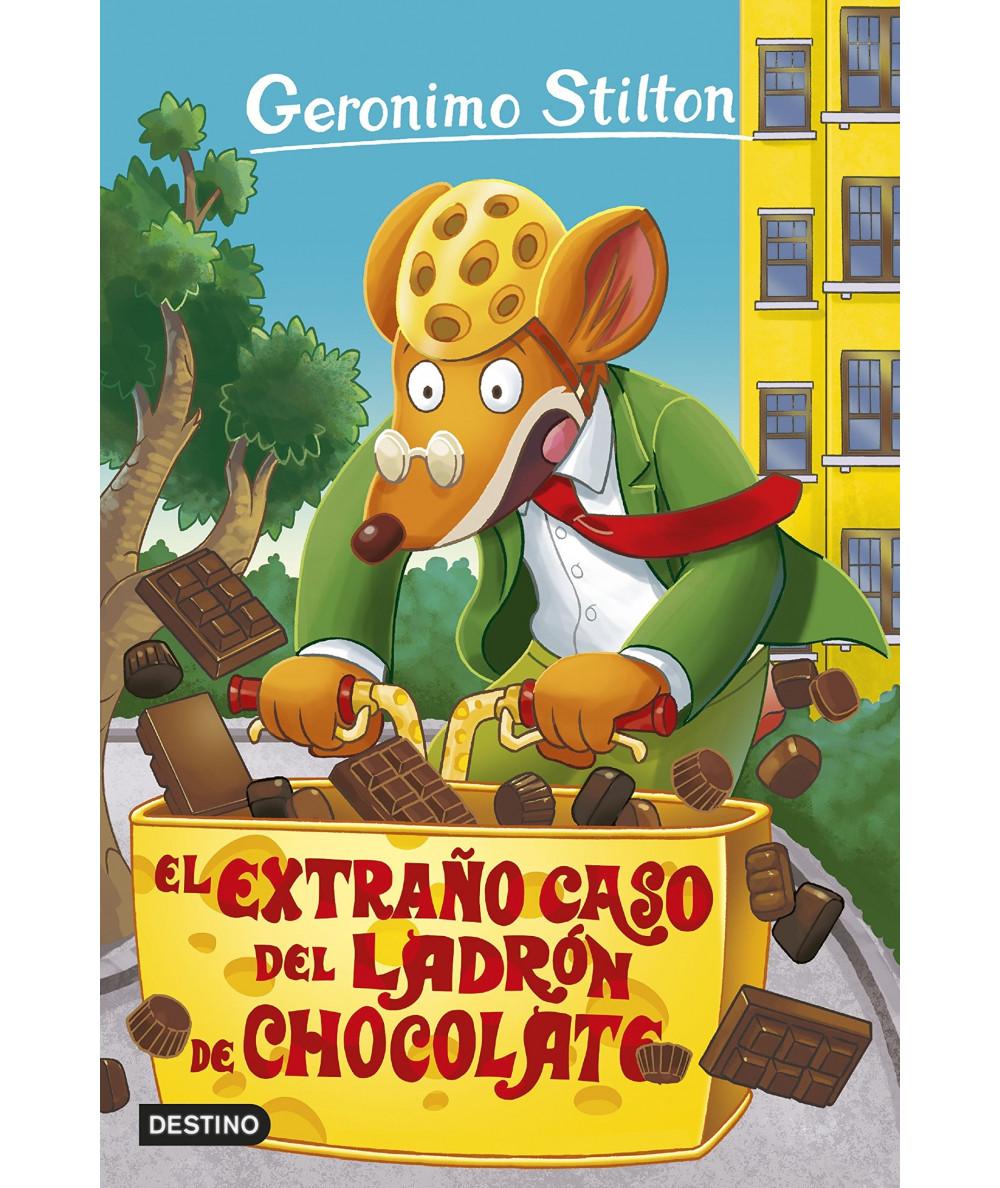 GERONIMO STILTON 69 EL EXTRAÑO CASO DEL LADRON DE CHOCOLATE Infantil