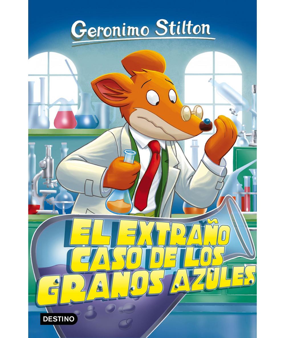 GERONIMO STILTON 70 EL EXTRAÑO CASO DE LOS GRANOS AZULES Infantil