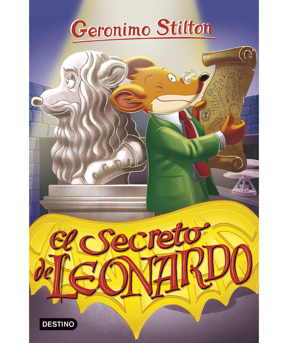 GERONIMO STILTON 75 SECRETO DE LEONARDO Infantil