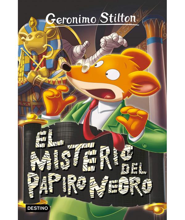 GERONIMO STILTON 77 EL MISTERIO DEL PAPIRO NEGRO Infantil