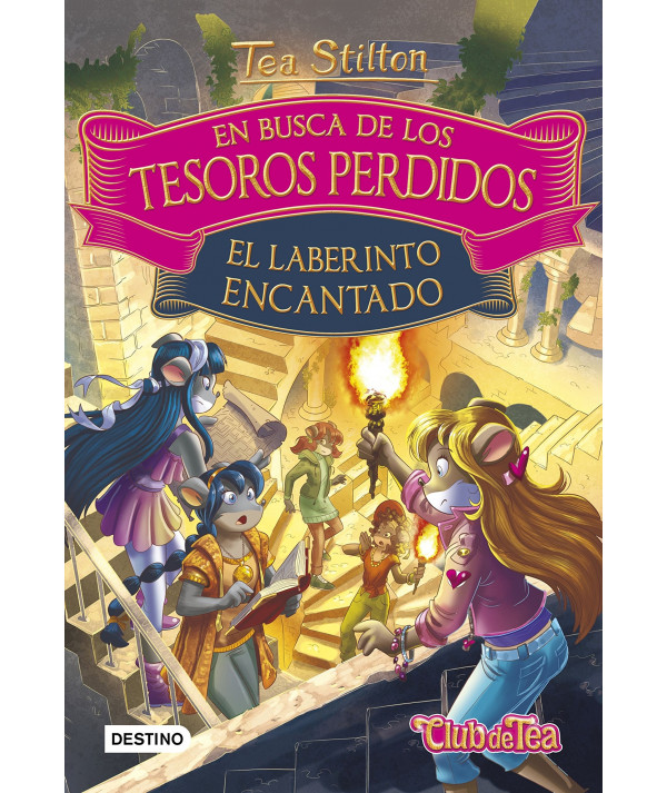 TEA EN BUSCA DE TESOROS PERDIDOS 3 EL LABERINTO ENCANTADO Infantil