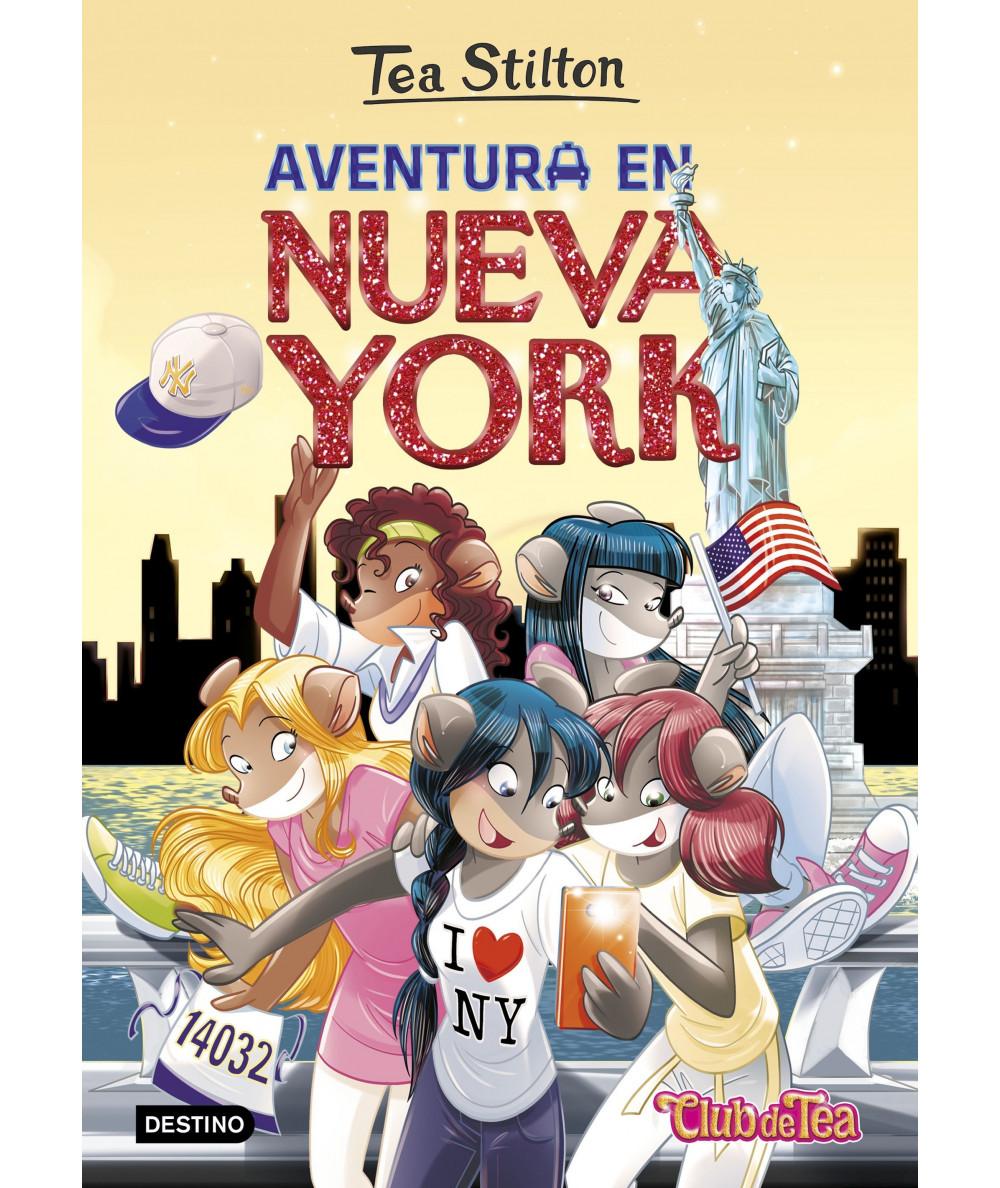 TEA STILTON 6 AVENTURA EN NUEVA YORK Infantil