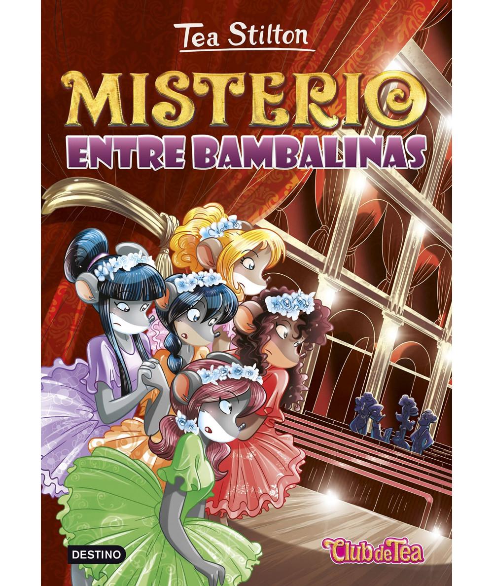 TEA STILTON 14 MISTERIO ENTRE BAMBALINAS Infantil