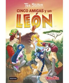 TEA STILTON 17 CINCO AMIGAS Y UN LEON Infantil