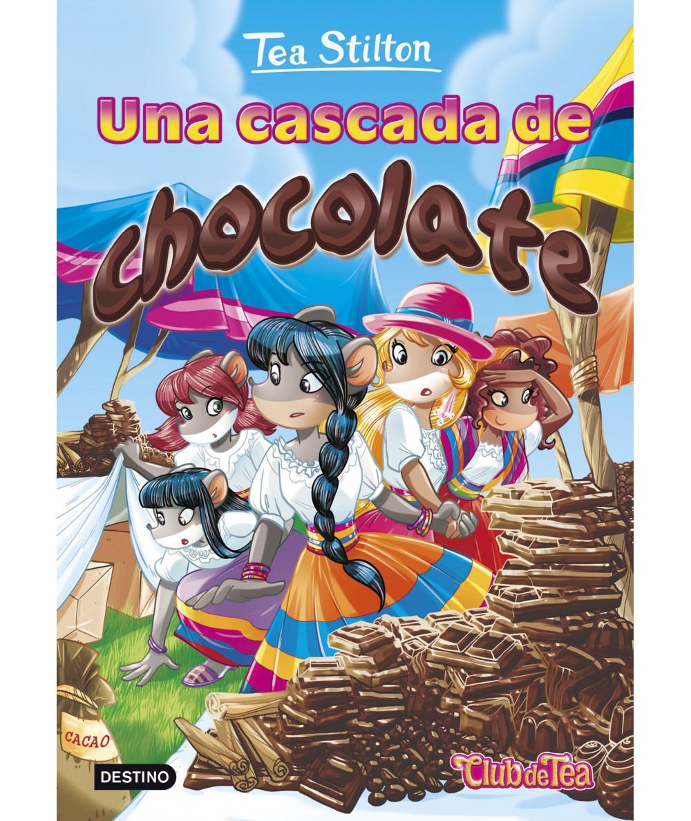 TEA STILTON 19 UNA CASCADA DE CHOCOLATE Infantil