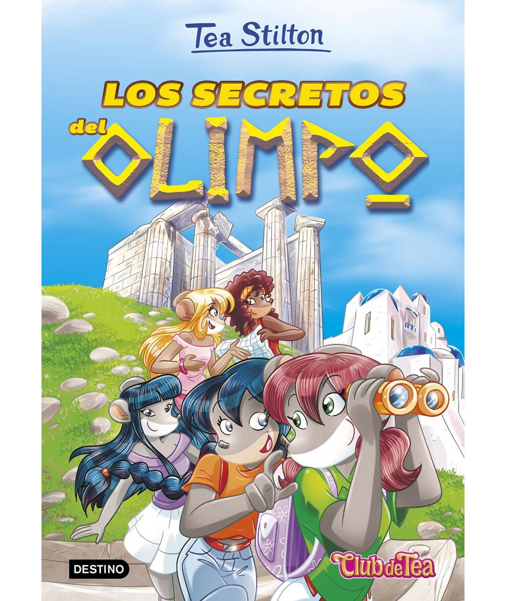 TEA STILTON 20 LOS SECRETOS DEL OLIMPO Infantil