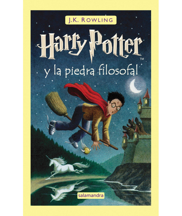 Harry Potter y la piedra filosofal. J.K. Rowling Infantil