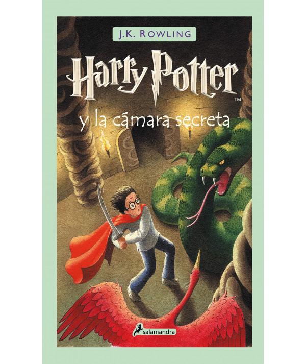 Harry Potter y la cámara secreta. J.K. Rowling Infantil