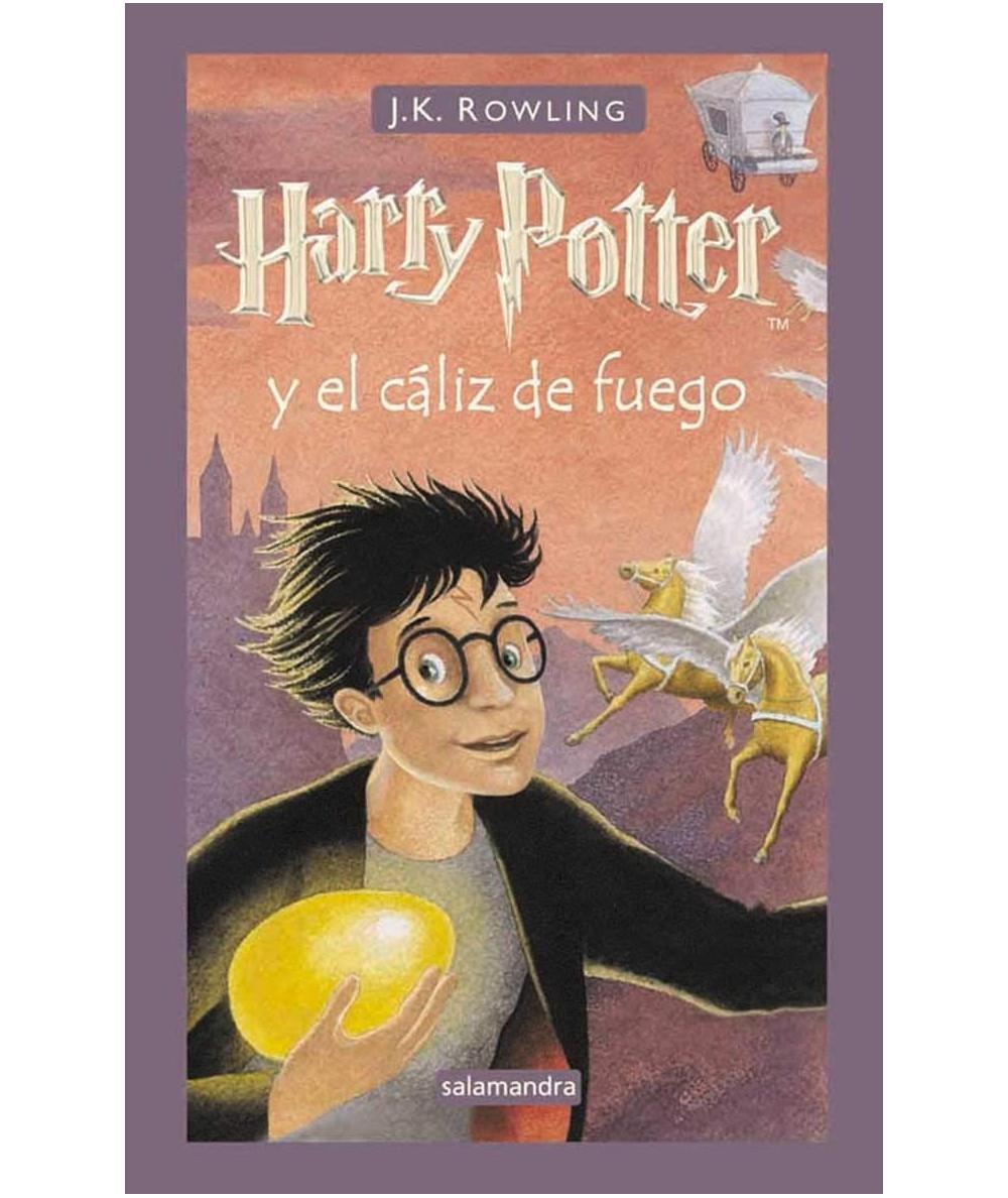 Harry Potter y el cáliz de fuego. J.K. Rowling Infantil