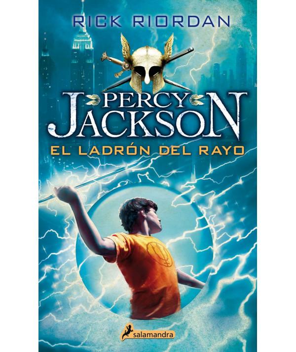 PERCY JACKSON Y EL LADRON DEL RAYO Juvenil