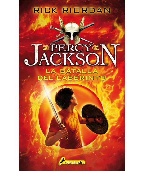 PERCY JACKSON Y LA BATALLA DEL LABERINTO Juvenil