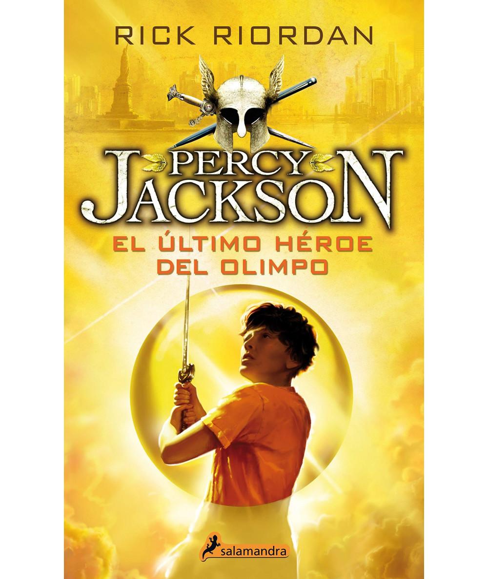 PERCY JACKSON Y EL ULTIMO HEROE DEL OLIMPO Juvenil
