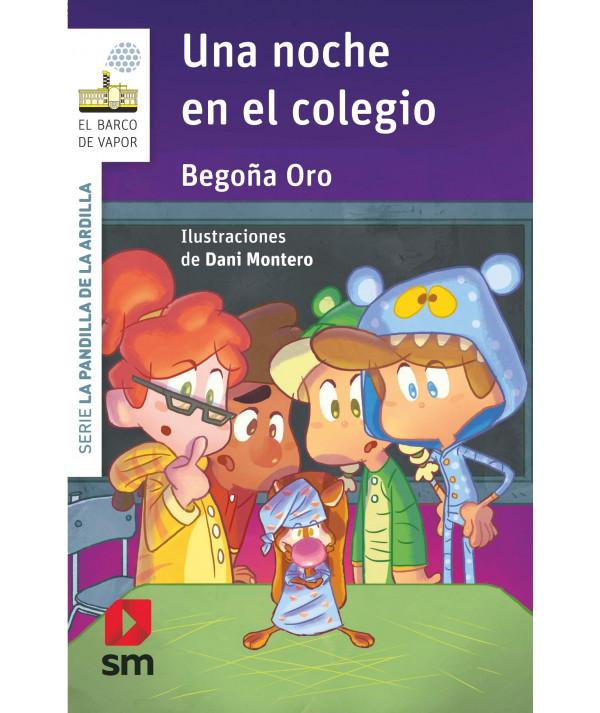 UNA NOCHE EN EL COLEGIO (PANDILLA ARDILLA) Infantil