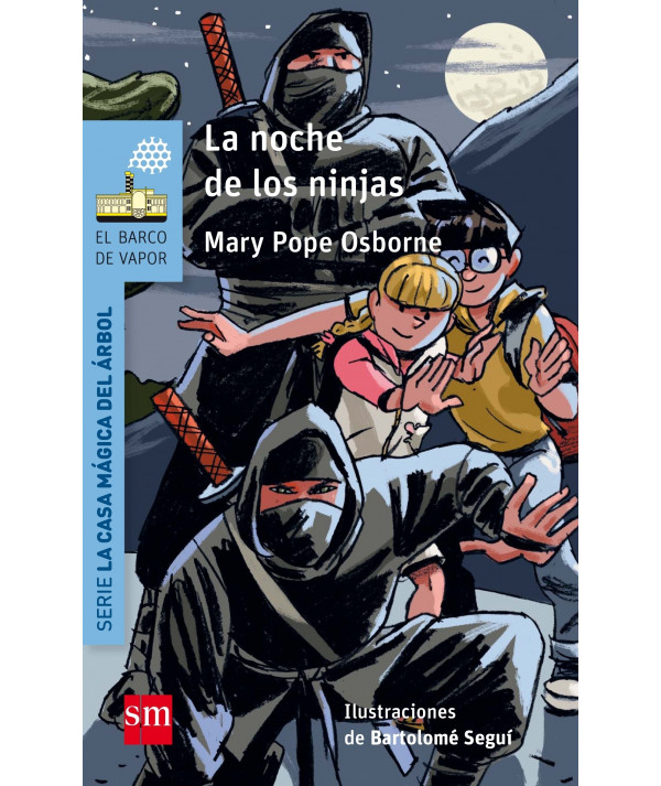 LA NOCHE DE LOS NINJAS (CASA MAGICA) Infantil