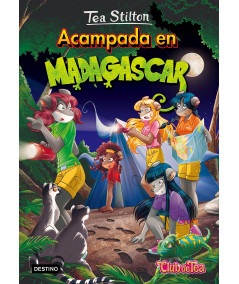 TEA STILTON 24 ACAMPADA EN MADAGASCAR Infantil