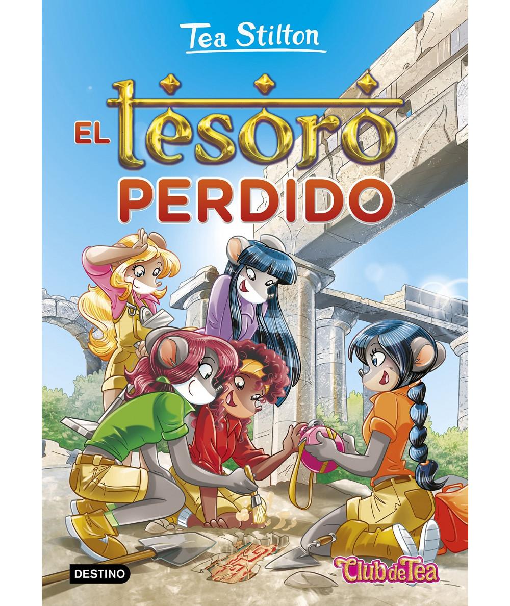 TEA STILTON 27 EL TESORO PERDIDO Infantil