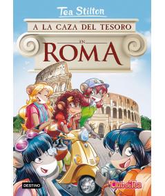 TEA STILTON 33 A LA CAZA DEL TESORO EN ROMA Infantil