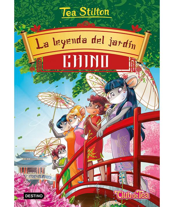 TEA STILTON 34 LA LEYENDA DEL JARDIN CHINO Infantil