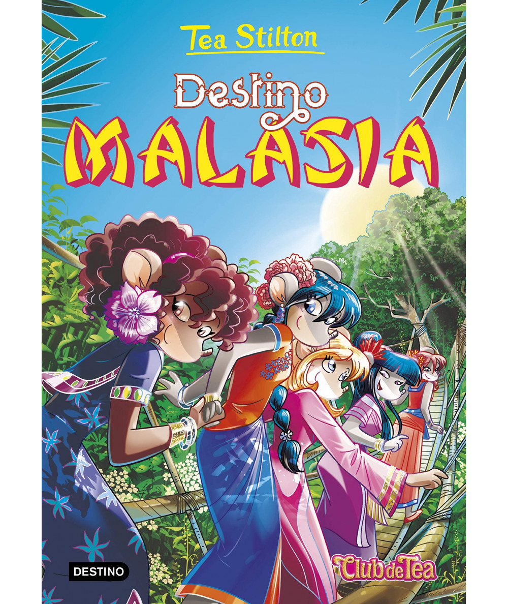 TEA STILTON 36 DESTINO MALASIA Infantil