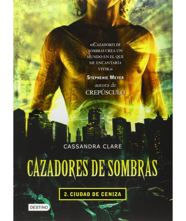CAZADORES DE SOMBRAS 2. CIUDAD DE CENIZA Juvenil