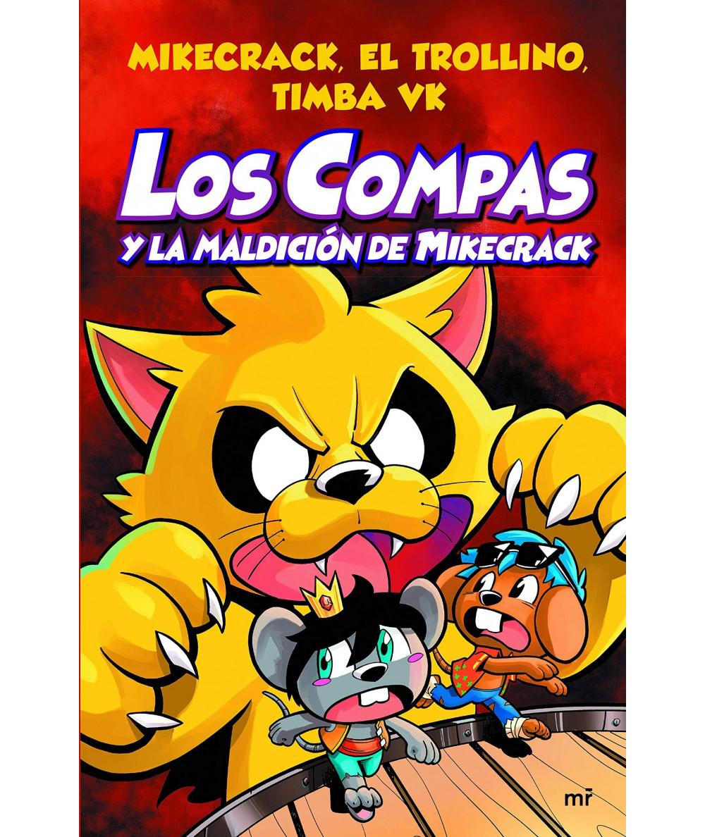 LOS COMPAS Y LA MALDICION DE MIKECRACK Infantil