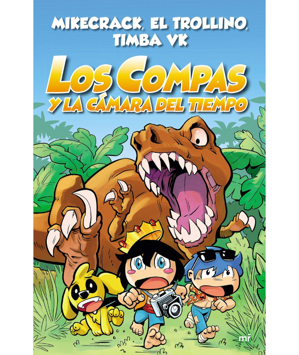 LOS COMPAS Y LA CAMARA DEL TIEMPO Infantil