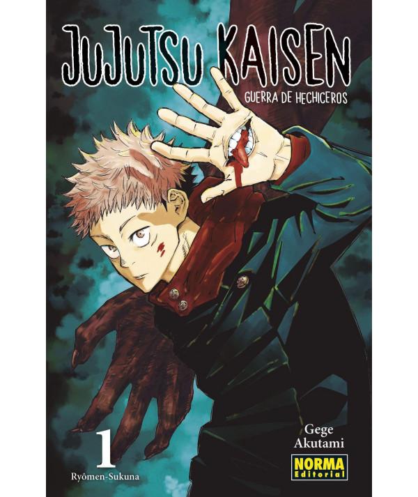JUJUTSU KAISEN 01 Comic y Manga