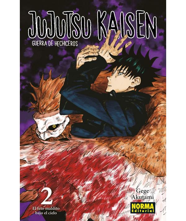 JUJUTSU KAISEN 02 Comic y Manga