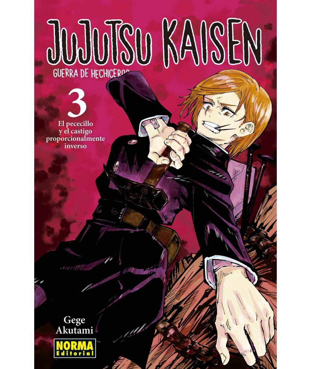 JUJUTSU KAISEN 03 Comic y Manga