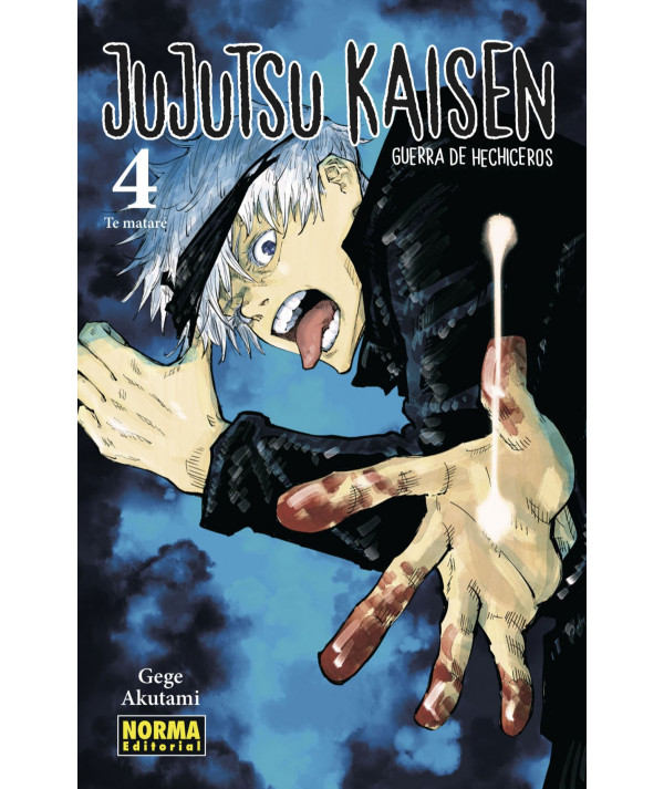 JUJUTSU KAISEN 04 Comic y Manga