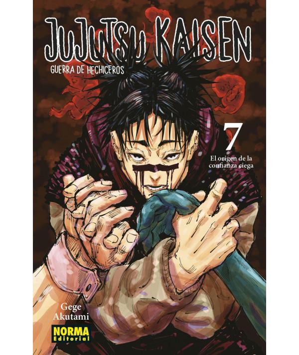 JUJUTSU KAISEN 7 Comic y Manga