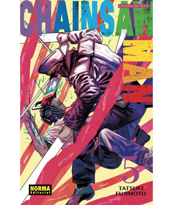 CHAINSAW MAN 5 Comic y Manga