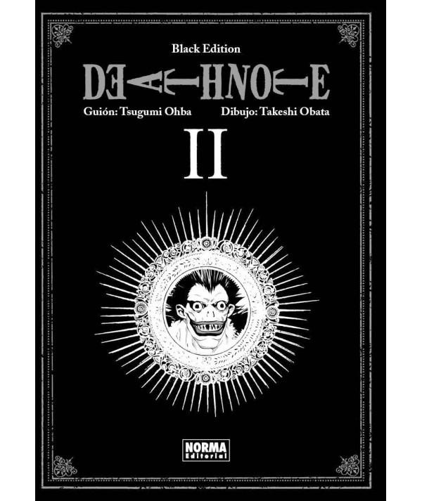 DEATH NOTE BLACK EDITION 2 Comic y Manga