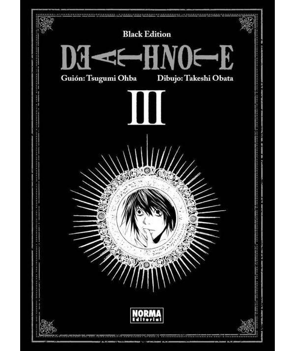 DEATH NOTE BLACK EDITION 3 Comic y Manga