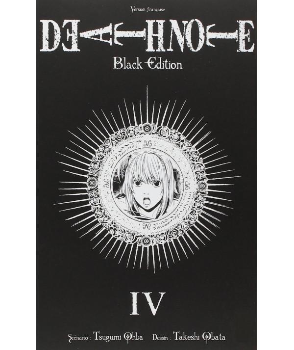DEATH NOTE BLACK EDITION 4 Comic y Manga