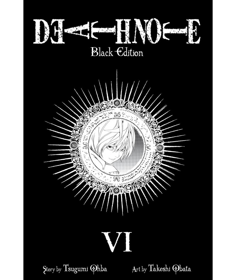 DEATH NOTE BLACK EDITION 6 Comic y Manga