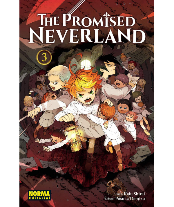 THE PROMISED NEVERLAND 3 Comic y Manga