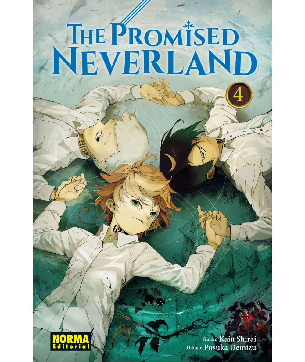 THE PROMISED NEVERLAND 4 Comic y Manga